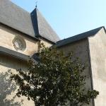 Côté église Ste Foy