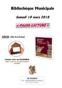 Pause Lecture @ Bibliothèque