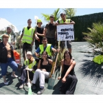chantiers jeunes - 2011 - plantations