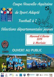 Coupe Nouvelle-Aquitaine de Sport Adapté Football à 7 @ Complexe sportif