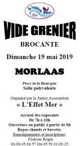 """Vide-grenier de """"L'Effet Mer"""" @ Salle polyvalente"""